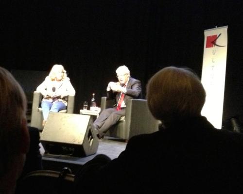 Armgard Seegers im Gespräch mit Oliver Scheyt, Kampnagel 19.8. 2013