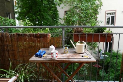 Balkon, noch nicht herbstlich