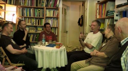 Gesprächsrunde bei Alslebens