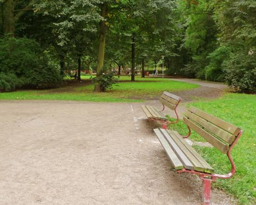 Lindenpark in Eimsbüttel
