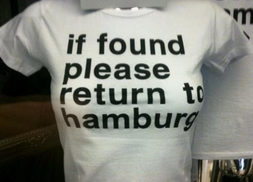 TShirt Hamburg
