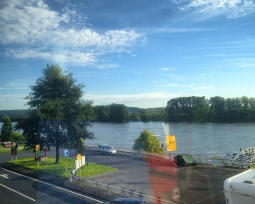 Rhein bei Linz