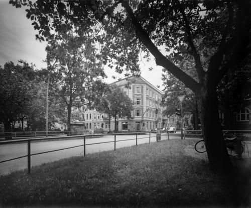 Bleickenallee, Ecke Fischers Allee