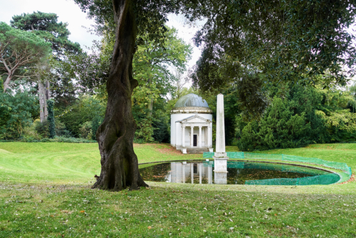 Chiswick House. Ionischer Tempel, von William Kent