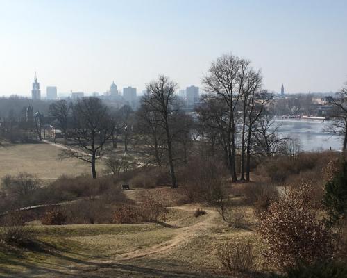 Blick vom Flatowturm Richtung Potsdam