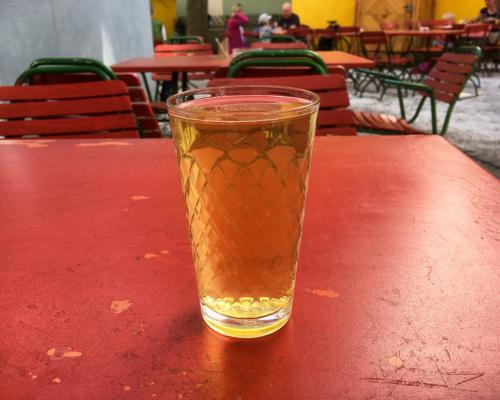 Apfelwein in der Stalburg