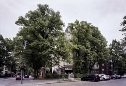 Ecke Friedensallee/Große Brunnenstraße - Hamburg Ottensen