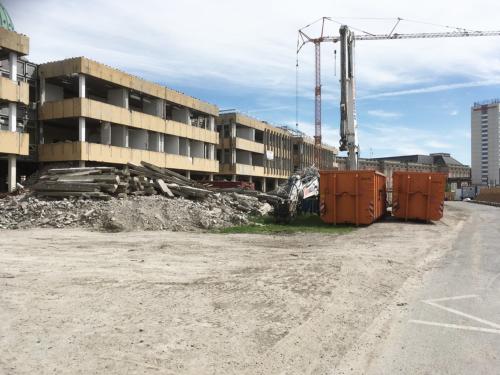 Potsdam -- Entsorgung der DDR-Architektur