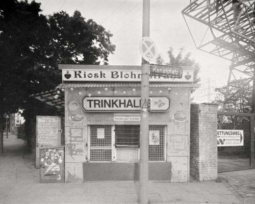 Kiosk Blohmstraße und Trinkhalle am Kanalplatz in Harburg