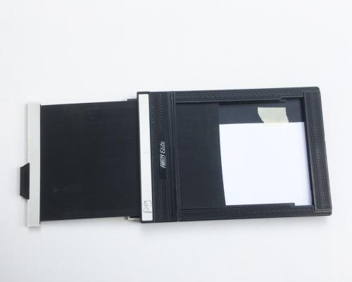 3x5 Papierstreifen in Planfilmkassette