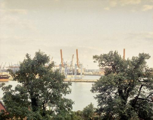 Elbe vom Schulberg aus gesehen