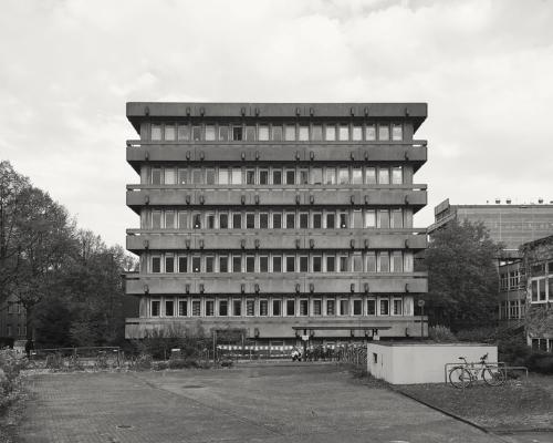 Institutsgebäude. Sedanstraße, Hamburg-Rotherbaum.