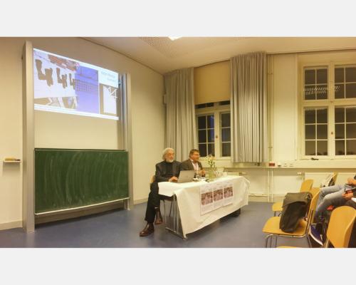 Panel mit Ulf Wuggenig und Gerhard Panzer