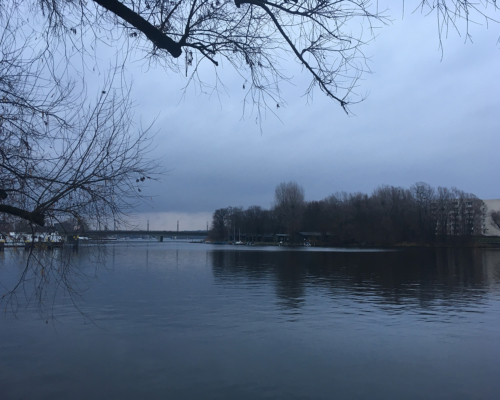 An der Havel trüb