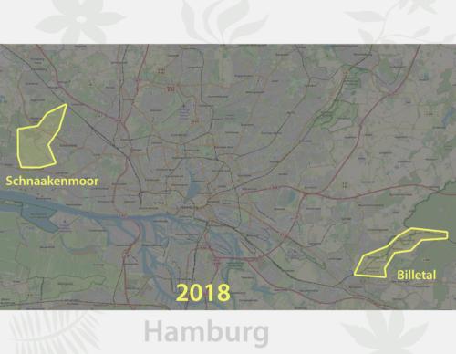 Karte Lieblingsplätze Hamburg 2018
