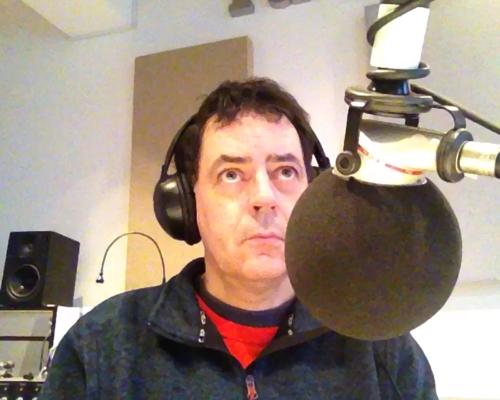 Im Studio 1 von Radio X in Frankfurt-Bockenheim