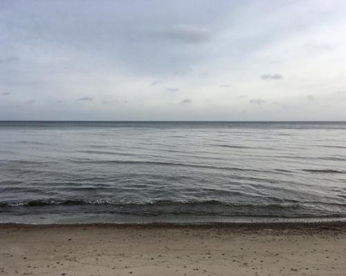 Ostsee. Am Strand von Tunderup. Falster.