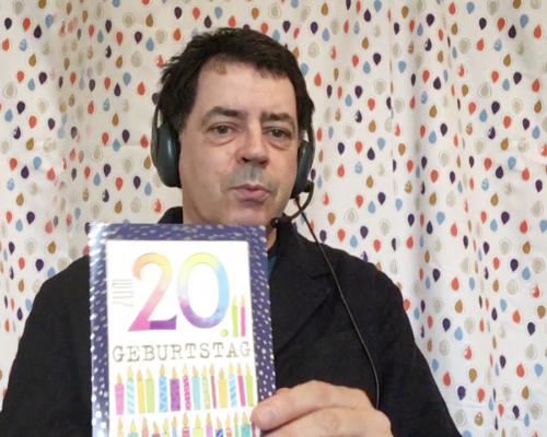 Das Seminar auf Radio X - Selbst mit Geburtstagskarte