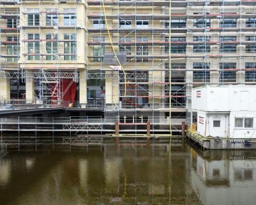 Baugerüst Alter Wall Alsterfleet Hamburg