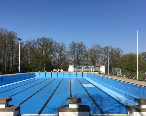 50m Schwimmbecken Poseidon Bad in Eidelstedt