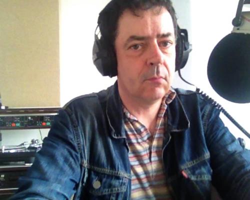 Selbst im Studio 1 von Radio X, Frankfurt