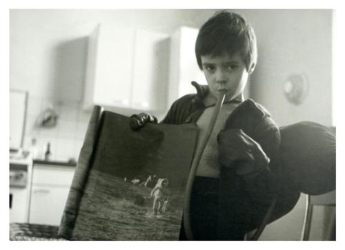 Selbst als kleiner Astronaut 1969