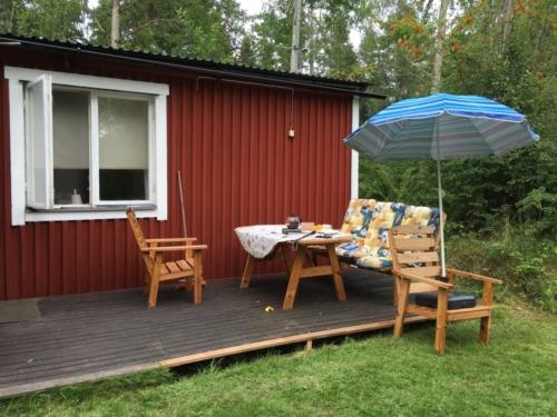 Meine süße Hütte in Schweden