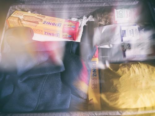 Reisekoffer Testpackung